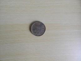 Jeton  Aux Glaces 25  R. Ste Apoline Paris   Monnaie De Singe - Brothel Tokens
