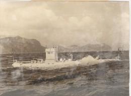 "Photo Ancienne ""Le Bathyscaphe Trieste"" 1957 - Boten"