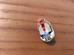 """Pin´s """"SPORTOVNI 1985 OLYMPIADA CSAD KNV PRAHA XIII"""" (Tchécoslovaquie) - Olympische Spiele"""