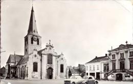 PK - Lebbeke - Kerk En Gemeentehuis - Lebbeke