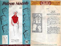 """Patron Modèle """"Blouse"""" Pour Femme De Taille Manequin 44 (37085)_L33 - Patterns"""