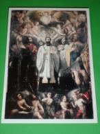 Cm17x12  Cartolina Nv S.FRANCESCO SAVERIO/BRIGIDA Svezia/CARLO Borromeo/LUIGI Gonzaga/OTTAVIO - Chi.SANTI MARTIRI-TORINO - Religione & Esoterismo