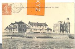 GRANDCAMP- Les - BAINS  - La Plage Et Les Villas ( Coté Ouest , Trés Bon état ( Voir Scan ) - Frankreich