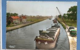 02  MEURCHIN  LE CANAL N° 277  BON ETAT    ECRITE  2 SCANS - France