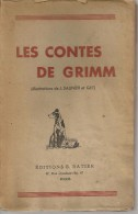 GRIMM -   CONTES    - RATIER -  1946 - Contes