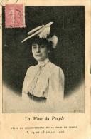 CPA 42 LA MUSE DU PEUPLE FETES DU COURONNEMENT DE LA MUSE DU PEUPLE  JUILLET 1906 - Saint Etienne