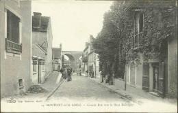 MONTIGNY-SUR-LOING - Grande Rue Vers Le Haut Montigny - Autres Communes