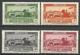 GRAND LIBAN  PA SERIE  N� 75 / 78 NEUF** LUXE SANS CHARNIERE / MNH