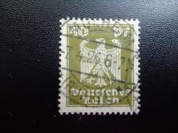 Allemagne  1924/25 N°353 Oblitéré - Duitsland