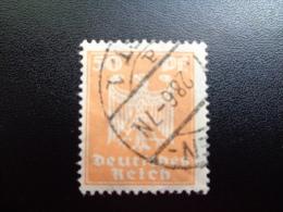 Allemagne  1924/25 N°354 Oblitéré - Gebruikt