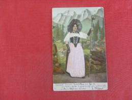 Silk  Dress  Berner Tracht  Embossed   Ref 1796 - Europe