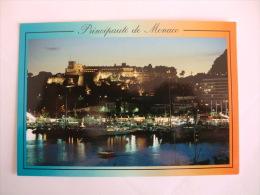 Postcard Postal Le Port - Le Palais - Monaco