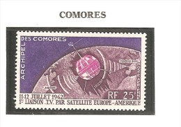 Comores - 1962 - Y&T PA 7 - Neuf ** - Space