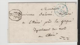FP045/ Brief,  Port Payee 1814 - 1830-1849 (Unabhängiges Belgien)