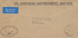Bahamas 1976 Nassau Unfranked OHMS Cover - Bahama's (1973-...)