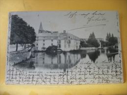 10  03 - CPA - BAR SUR AUBE - LE MOULIN DU HAUT - 1901 - (VOIR SCANS RECTO / VERSO) - Bar-sur-Aube