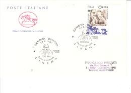 Oblitération Premier Jour-Italie-27/08/1997-Genova-Cinéma-L´acteur Pietro Germi - Cinema