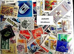 EUROPE 300 TIMBRES DIFFERENTS - Autres - Europe