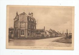 Cp , 86 , LES ORMES , La Route Nationale , Vierge , Ed : Couturier - France
