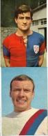 CALCIO  SPORT CARTOLINE CARTOLINA DI NILSEN  HARALD BOLOGNA  ANNI/60 RIZZO FRANCESCO CAGLIARI ANNI/60 - Calcio