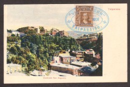 CL16) Valparaiso - Quebrada San Augustin - 1908 - Chile