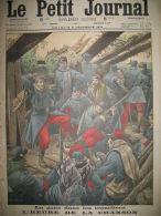 TRANCHEES L'HEURE DE LA CHANSON ARGONNE PARADE ALLEMANDE LE PETIT JOURNAL 1914