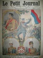 WW1 HERO�QUE SERBIE KARAGEORGES ROI PIERRE PRINCE REGENT LE PETIT JOURNAL 1915