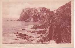 CPA Environs De Bormes - Les Falaises Et Fort De Bregancon - 1928 (14020) - Bormes-les-Mimosas