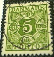 Denmark 1930 Postage Due 5 Ore - Used - Port Dû (Taxe)