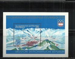 ALEMANIA DDR HOJITA JUEGOS OLIMPICOS DE INVIERNO 1976 INNSBRUCK - Invierno 1976: Innsbruck