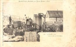 EXPEDITION ANDREE AU POLE NORD . USINE A GAZ AU SPITZBERG - Montgolfières
