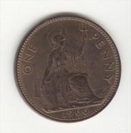 1 Penny Grande-Bretagne / Great Britain 1966 SUP - D. 1 Penny