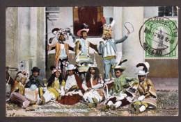 PE17) Bailes De Indigenas En Copacabana - 1908 - Perù