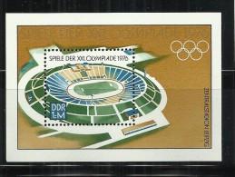 ALEMANIA DDR HOJITA JUEGOS OLIMPICOS DE MONTREAL 1976 - Verano 1976: Montréal