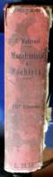 """ITALIA - """"MANUALE DEL MACCHINISTA E DEL FOCHISTA"""" EDIZIONE HOEPLI 1922 - Libros, Revistas, Cómics"""