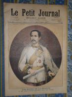 LE PETIT JOURNAL 19/09/ 1897 CHULALONGKORN ROI DU SIAM BANQUET CHIFFONNIERS RUSSIE