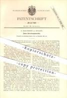 Original Patent - A. Hartmann In Apolda , 1881 , Zinsen-Berechnungsmaschine , Mathematik !!! - Historische Dokumente