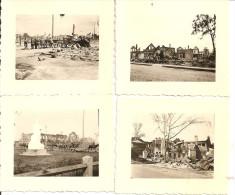 1941 - SWISLOCZ Kreis GRODNO, 4 Orginal Foto 6,5X5,5cm, 4scans - Belarus