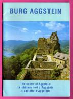 Livre - Burg Aggstein - Guide De La Ruine Du Château Fort D'Aggstein - En 3 Langues - 1995 - SCHNELL & STEINER - Boeken, Tijdschriften, Stripverhalen