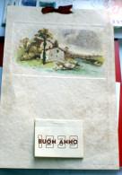 ITALIA - CALENDARIO ANNO 1939 SU CARTA PERGAMENA - Calendari