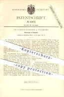 Original Patent - Antonino Corradi In Palermo , 1882 , Stempel , Druckerei !!! - Palermo