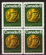 CANADA 1970.  #531, SIR DONALD ALEXANDER SMITH  Former Hudson's Bay Company Trader & Baron Strathcona - Blocs-feuillets