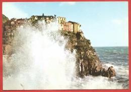 CARTOLINA NV ITALIA - MANAROLA (SP) - Mareggiata - Cinque Terre - 10 X 15 - La Spezia