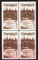 CANADA 1970.  #516, SIR ALEXANDER  MacKENZIE, 1st White Man To Cross The Canadian Prairies & Reach The Pacific Coast - Blocs-feuillets
