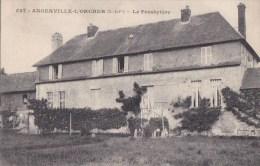 76 ANGERVILLE L' ORCHER  Jolie Vues Du  PRESBYTERE Dans La Verdure - Francia