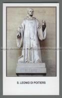 Xsa-12260 S. San LEONIO DI POITIERS LIENNE LA ROCHE SUR YON LUCON Santino Holy Card - Religion & Esotericism