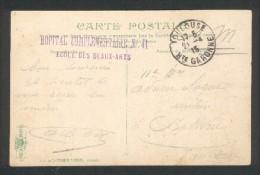 Toulouse - Hôpital Complémentaire N° 41 - Ecole Des Beaux Arts - 21 04 1915 - Marcophilie (Lettres)