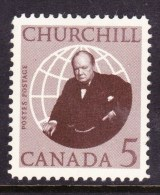 CANADA, 1965. #440, SIR WINSTON CHURCHILL,    MNH - Blocs-feuillets