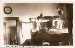 """RARISSIME POSTCARD """"ESCRITORIO"""" LABORATORIO LABORATOIRE ARGENTINA TBE SELTEN RARA NON CIRCULEE CIRCA 1940 NEUVE GECKO - Industrie"""