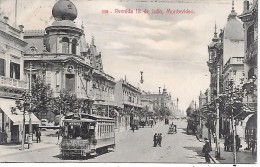 URUGUAY - MONTEVIDEO - Avenida 18 De Julio - Uruguay